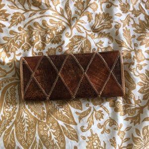 vintage crocodile wallet